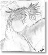 Dragon V. Metal Print