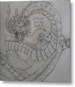 Dragonball Z Metal Print