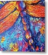 Dragonfly F Metal Print