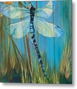 Dragonfly Fantasy Metal Print