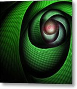 Dragons Eye Metal Print by John Edwards