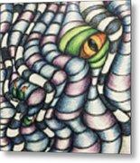 Dragon's Eye Metal Print