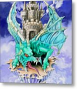 Dragons Keep By Spano Metal Print