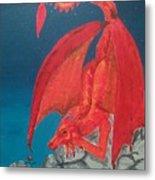 Dragons Love Metal Print