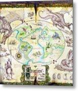 Dragons Of The World Metal Print