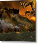 Dragons Return To Lost Island Metal Print