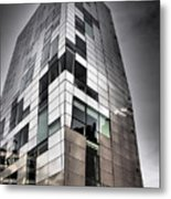 Drama In The City 4 Metal Print