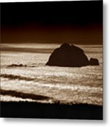 Drama On Big Sur Metal Print