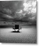 Dramatic Beach Metal Print by Marc Huebner
