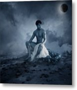 Dramatic Blue  Metal Print