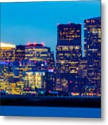 Dramatic Boston Skyline  Metal Print