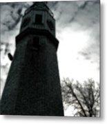 Dramatic Lighthouse Metal Print