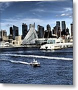 Dramatic New York City Metal Print