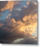 Dramatic Sweeping Clouds Metal Print