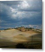 Dramatic Tuscan Landscape Metal Print