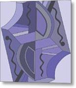 Drawn2abstract229 Metal Print