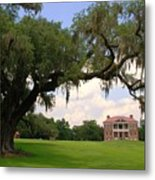 Drayton Hall Plantation Charleston Metal Print