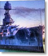 Dreadnought Metal Print by JC Findley