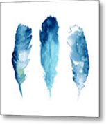 Dream Catcher Feathers Painting Metal Print