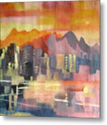 Dream City No.3 Metal Print