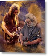 Dream Colors  Jerry Garcia Greatful Dead Metal Print