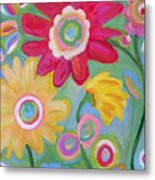 Dream Flowers Metal Print