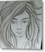 Dream Girl Metal Print