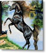 Dream Horse Series 3015 Metal Print