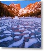 Dream Lake Dimples Metal Print