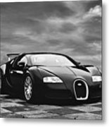 Dream Machine Bw Metal Print