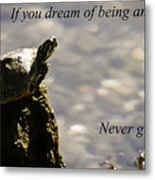Dream Of Being An Eagle Metal Print