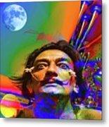 Dream Of Salvador Dali Metal Print