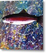 Dream Of The Rainbow Trout Metal Print by Lee Pantas