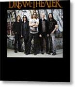 Dream Theater Metal Print