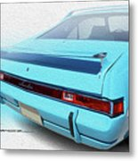 Amx Blue Butte Metal Print