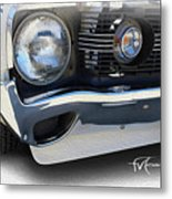 Amx In Your Face Metal Print