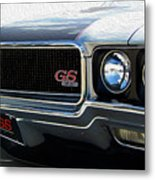 Buick With Gas Metal Print