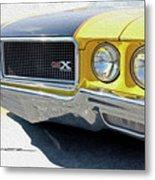 Yellow Wasp Gsx Metal Print