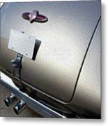 Twin Pipe Buick Metal Print