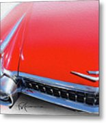 Whole Lot Of Red Metal Print