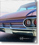Marvelous Mauve Metal Print