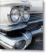 Candid Cadillac Metal Print
