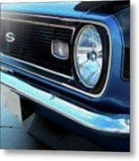 Blue Ss Metal Print