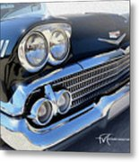 Dream_chevy110 Metal Print