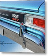 Dream_chevy127 Metal Print