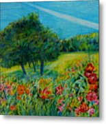 Dreaming About Summer Metal Print