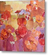 Dreaming Flowers Metal Print