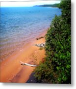 Dreaming Of Lake Michigan Metal Print
