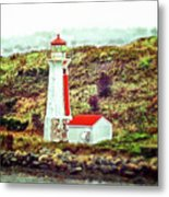 Dreaming Of The Georges Island Light In Halifax Metal Print
