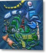Dreaming With The Fishes Metal Print